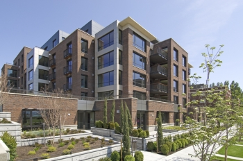 200 West Highlands was designed by Mithun and built by Walsh Construction