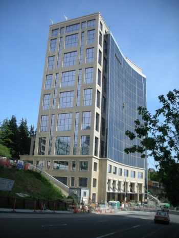 5th and Yesler was designed by Sclater Partners and built by Lease Crutcher Lewis Construction