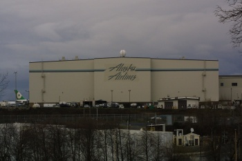 Alaska Airlines Hanger Maintenance was designed by ECH and built by Mortenson Construction