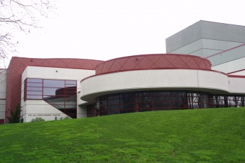 Bagley Wright Theater Addition and Reroof was designed by Callison and built by WG Clark Construction