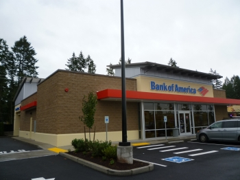 Bank of America - Covington was designed by Magellan and built by Westmark Construction
