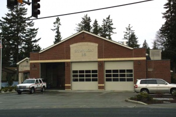 Edmonds Fire Station 16 was designed by TCA and built by John Daniels Construction