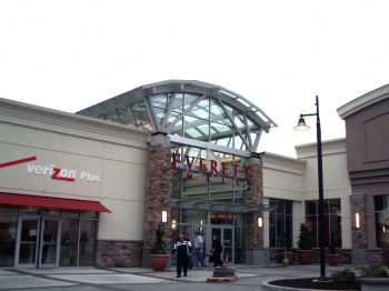 Everett Mall Entry was designed by Mulvanny and built by SD Deacon Construction