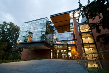 Foster Business School was designed by LMN and built by Sellen Construction