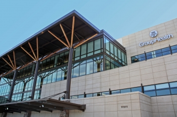 Group Health Medical Center was designed by Northwest Architectural Company and built by Mortenson Construction