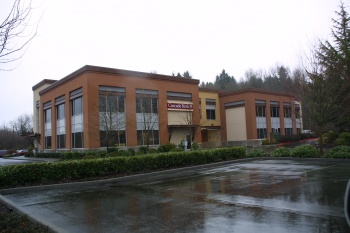 Issaquah Bank Expansion was designed by Baylis and built by Bayley Construction