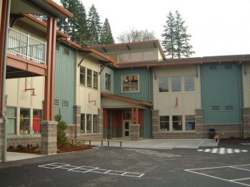 Issaquah Elementary was designed by Cornerstone and built by Cree Construction