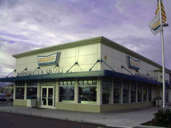 Krispy Kreme, Puyallup was designed by Dykeman and built by Wilcox Construction