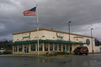 Krispy Kreme Burlington was designed by Dykeman and built by Wilcox Construction