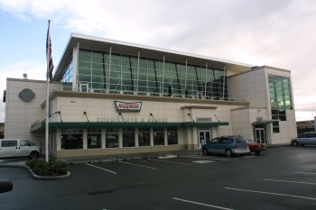 Krispy Kreme Coorporate Headquarters was designed by Dykeman and built by Wilcox Construction