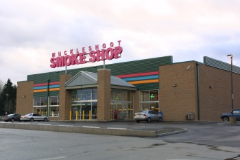 Muckleshoot Smokeshop was designed by Mulvanny and built by Lease Crutcher Lewis Construction