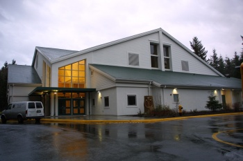 Overlake School PE and Athletic Building was designed by Bassetti and built by Foushee Construction