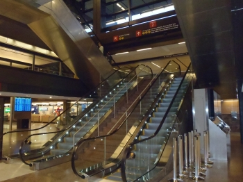 Port of Seattle Escalator Modernization was designed by  and built by Turner
