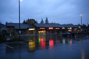 Redmond Ridge Retail A and B was designed by Fuller Sears and built by GLY Construction