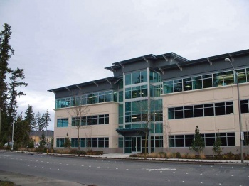 Ridgepoint was designed by Baylis and built by Skanska Construction