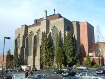 Saint Marks Cathedral was designed by  and built by Sellen Construction