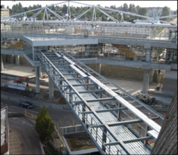 SeaTac Airport Station was designed by Hatch Mott MacDonald and built by Bayley Construction