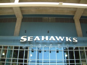 Seahawk Stadium was designed by Elerbe Becket and built by Turner Construction