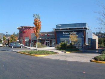 Woodinville Retail Expansion was designed by Fuller Sears and built by GLY Construction